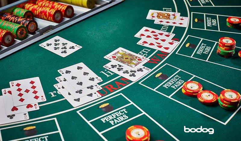 blackjack europeu